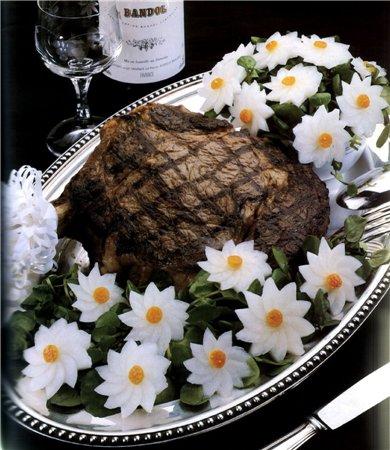 Как украшать праздничные блюда