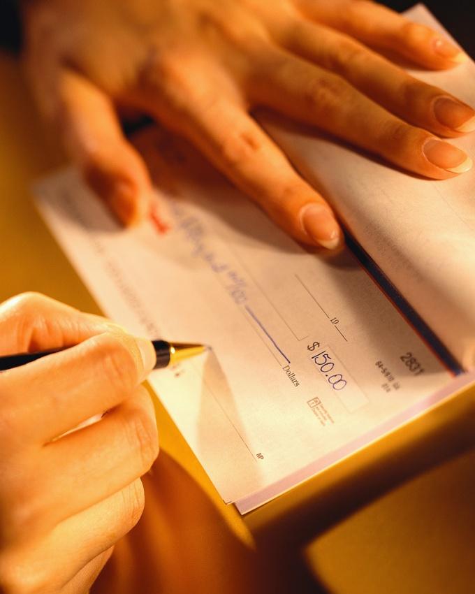 Как заполнять чек