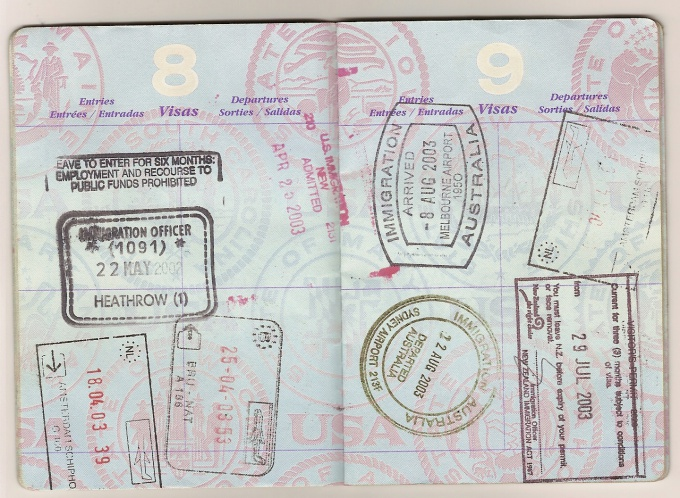 Как заполнить анкету на визу