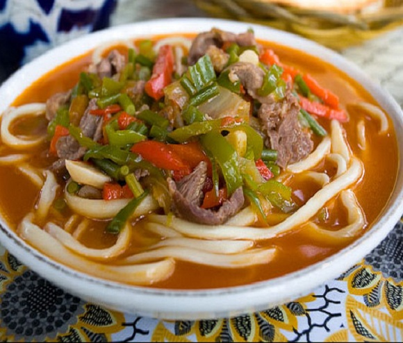 Как приготовить лагман по-узбекски
