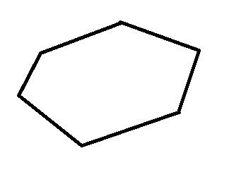 Рис. 2. Получается выпуклый шестиугольник.