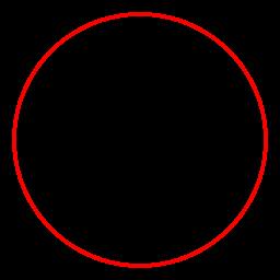 Окружность радиуса R