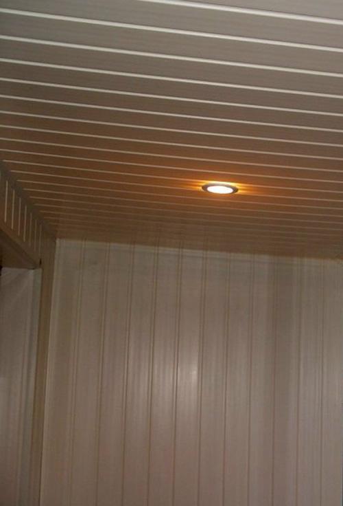 Свет в панельке.