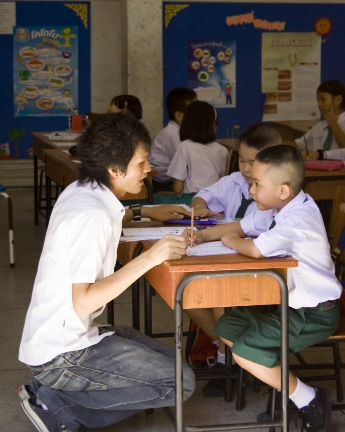 Внимательно слушайте учителя