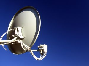 How to set satellite dish