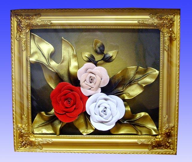 Как сделать из листьев розу фото 540