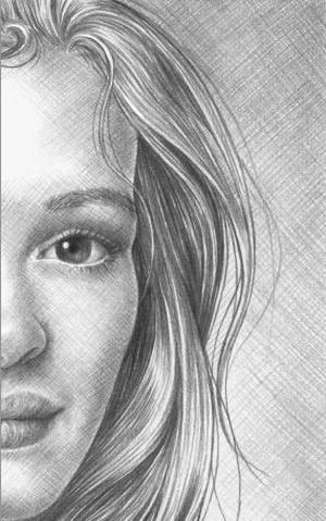 Как нарисовать карандашом волосы