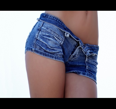 How to make jeans shorts