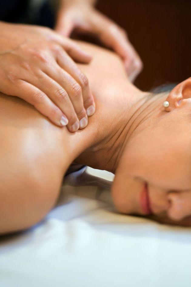 A neck massage will relieve pain in the neck area