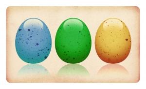 Как на Пасху, как на Пасху яйца все вогнали в краску!
