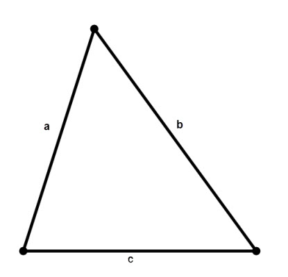 How to calculate the area of a triangle