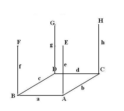 Как построить параллелепипед