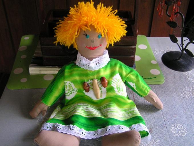 Как сшить куклу для театра