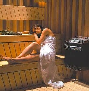 Как установить банную печь