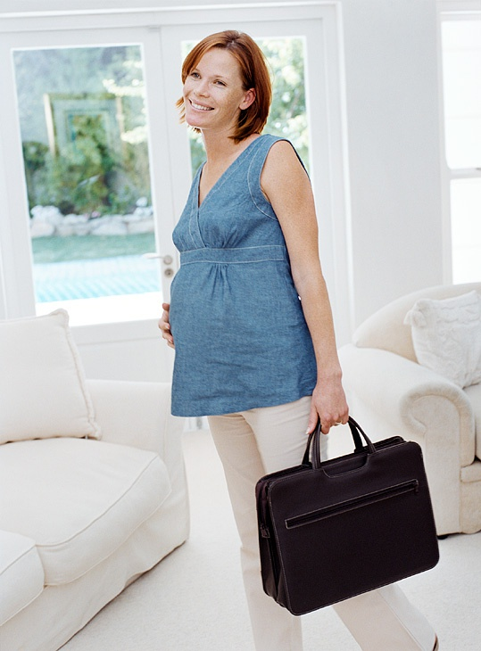 Как уйти в отпуск по беременности