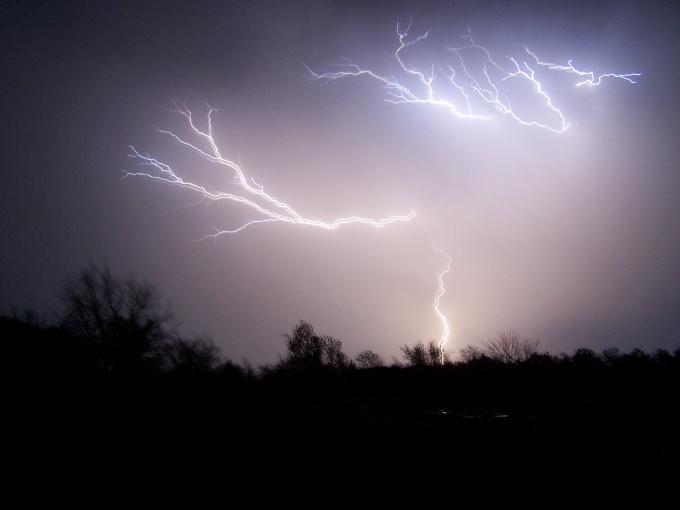 Как уберечься от молнии