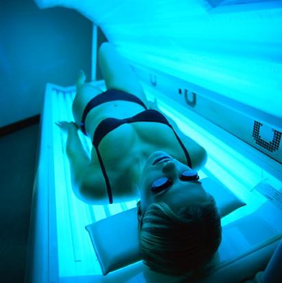 Как усилить загар в солярии