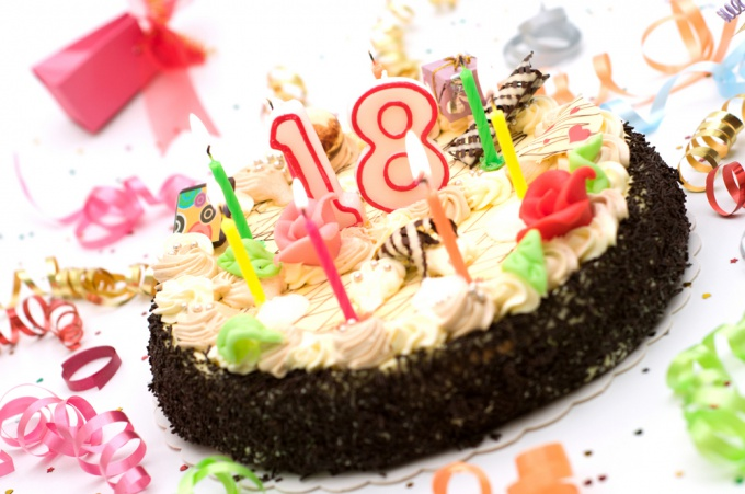 How to celebrate 18th birthday