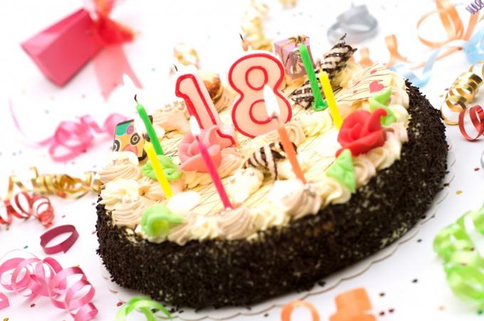 Поздравление на день рождения 18 лет подруге в прозе