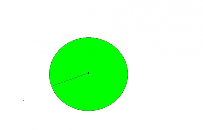 the radius and center of a circle