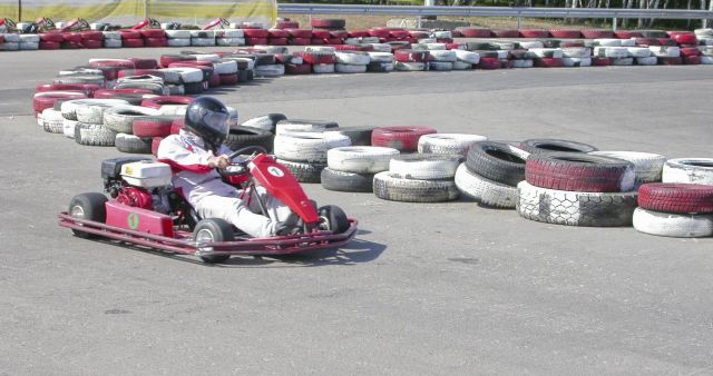 Karting - fun for thrill-seekers.