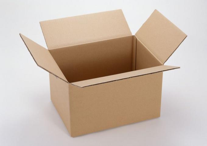 Так выглядит заготовка для детской коробки