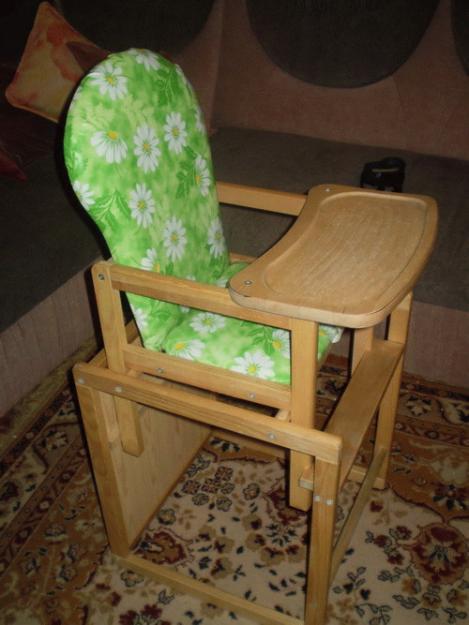 Как сделать детский стульчик для кормления