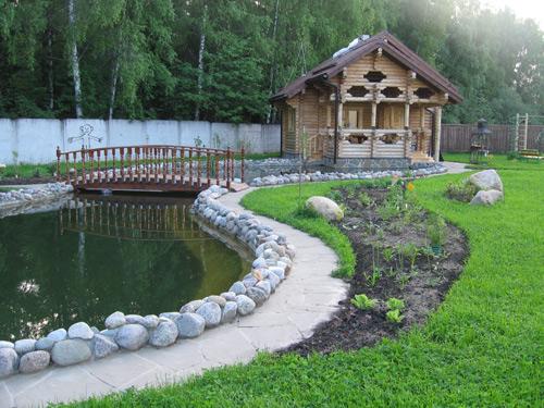 Пруд-бассейн для дачи своими руками фото 181