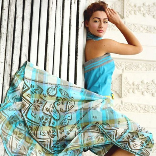 How to sew a flared skirt