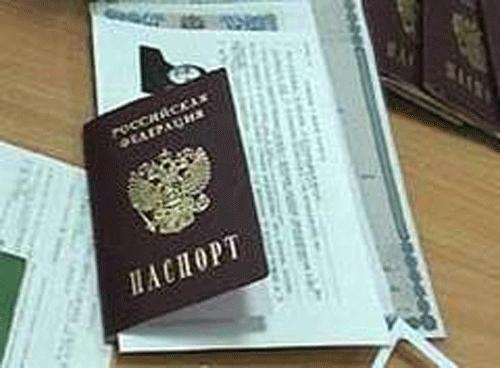 Собранные документы необходимо отнести в паспортный стол