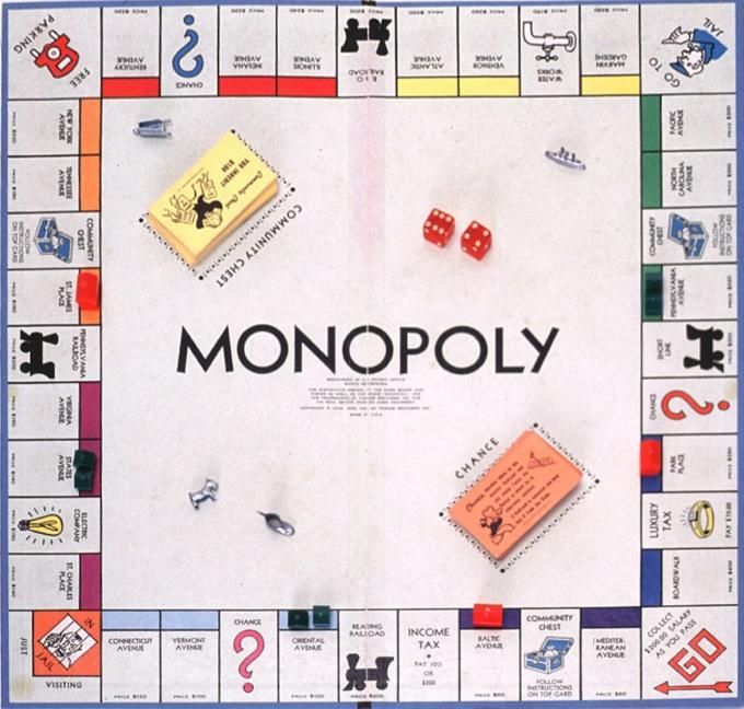 """Как сделать игру """"монополия"""""""