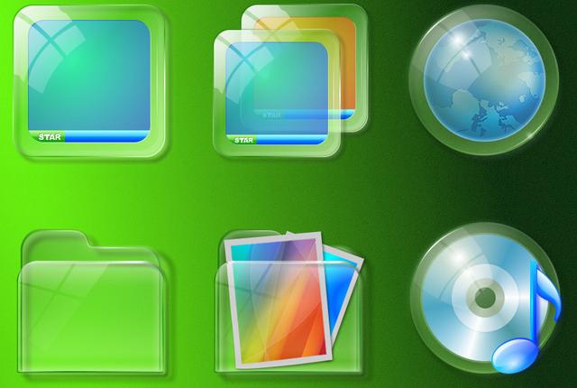 Как сделать иконки прозрачными