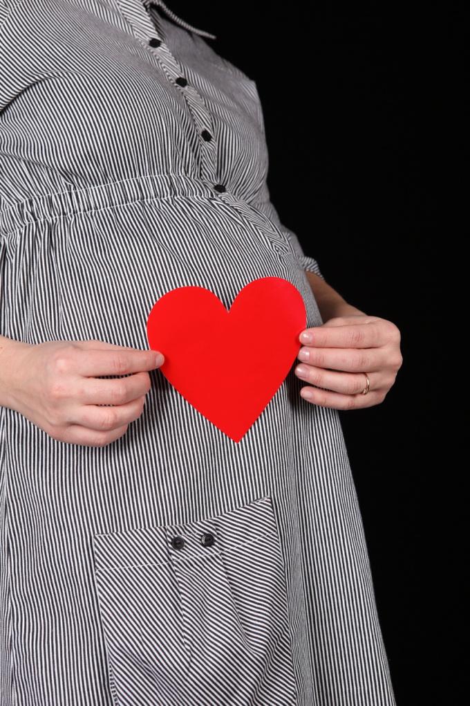 Если беременность желанна, донесите эту мысль до мужа