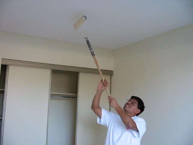 Как размывать потолки