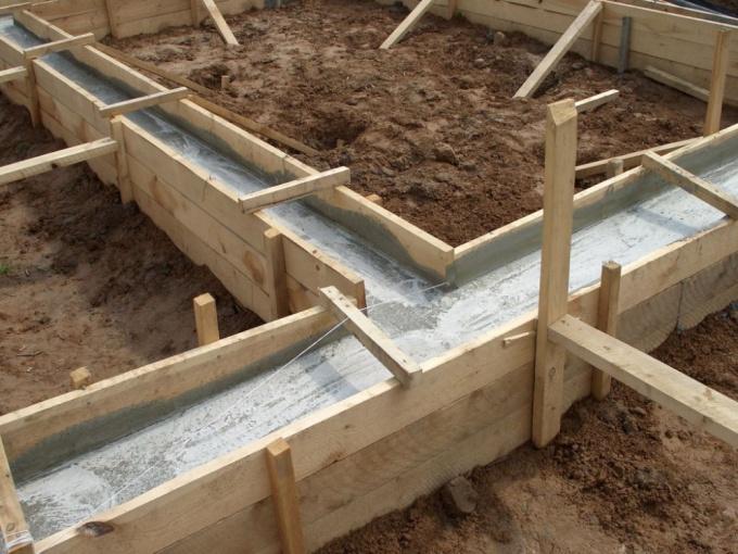 Как строить фундамент для дома