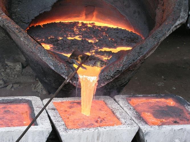 Как расплавить медь?