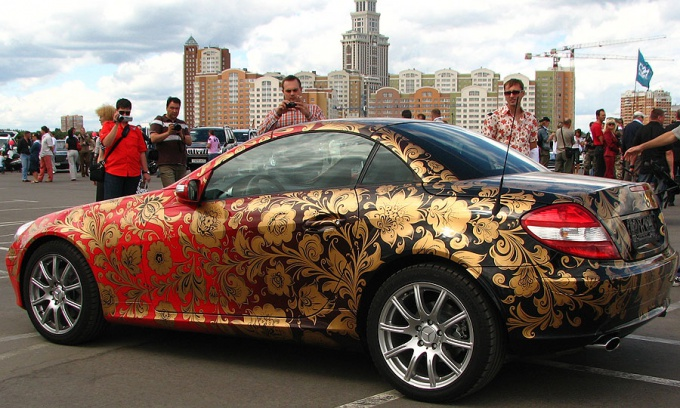 Как раскрасить машину