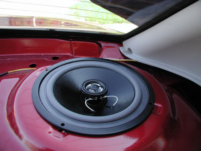 How to install <strong>speakers</strong> <b>Kalina</b>