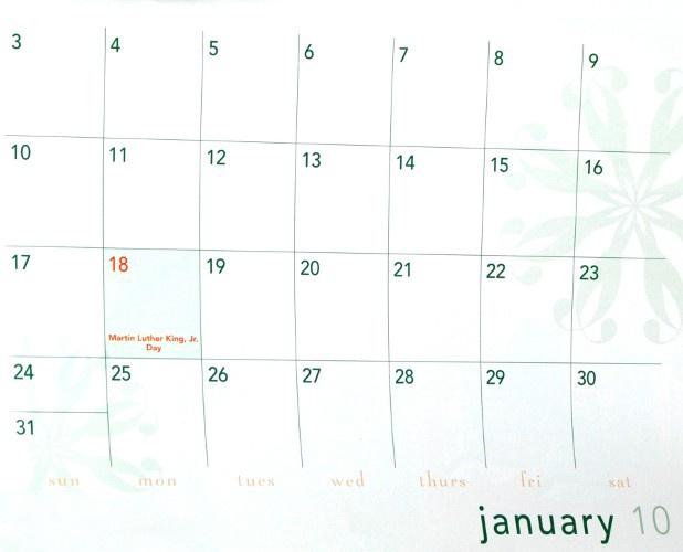 Как сделать самому календарь