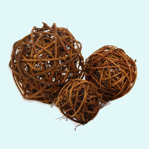 How to weave a ball