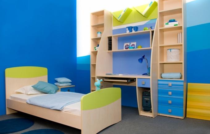 Как сделать детскую в однокомнатной квартире