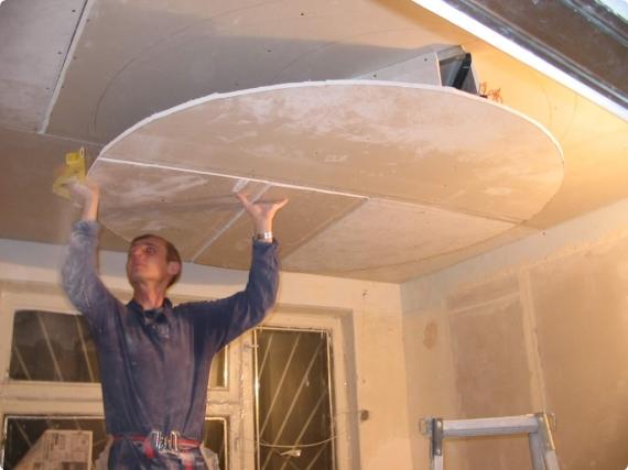 Как сделать конструкцию из гипсокартона