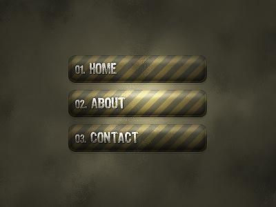 Как сделать кнопки  для сайта в фотошопе
