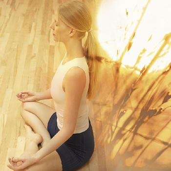 Медитация поможет развить себя духовно