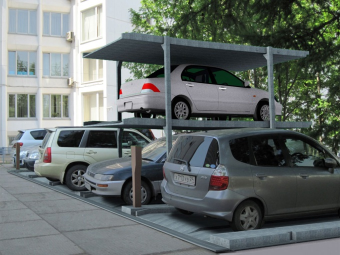 Как открыть открытую автостоянку