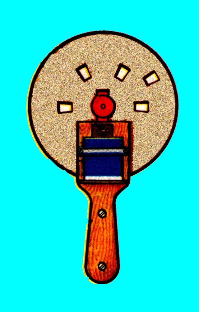 Для стробоскопа нужен фанерный диск