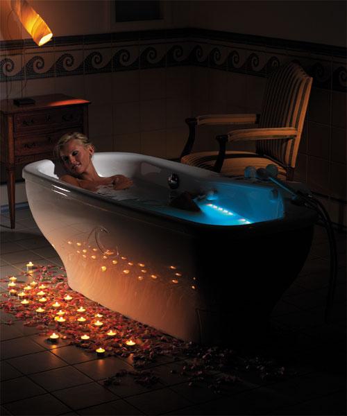 Как поднять ванну
