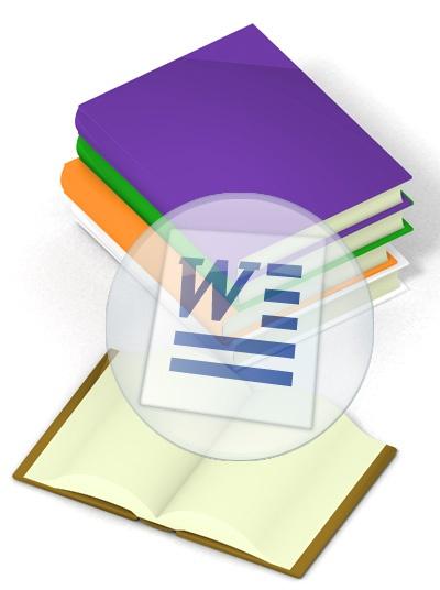 Как сделать из документа книгу