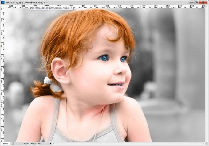 Как сделать из черно-белого цветное фото
