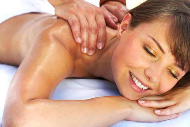 Как сделать расслабляющий массаж